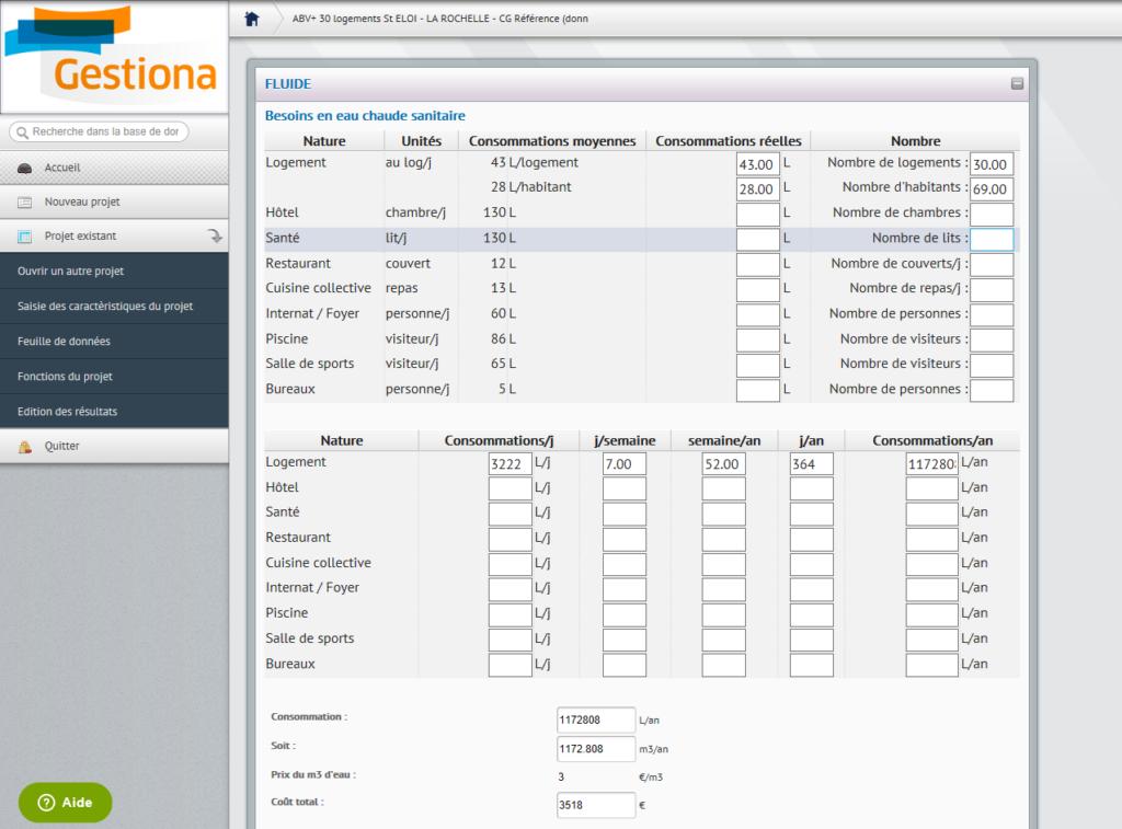 Gestiona _ exemple de feuille de calcul avec valeurs par défaut